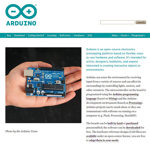 arduino new site
