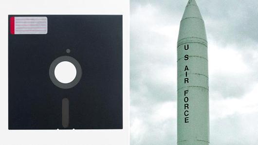 Военные США используют 8-дюймовые гибкие дискеты и компьютеры 70-х годов для управления ядерным арсеналом