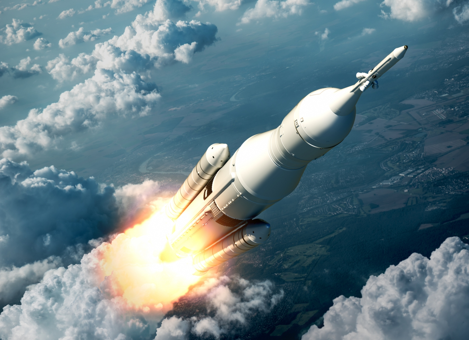 Картинки полет в космосе