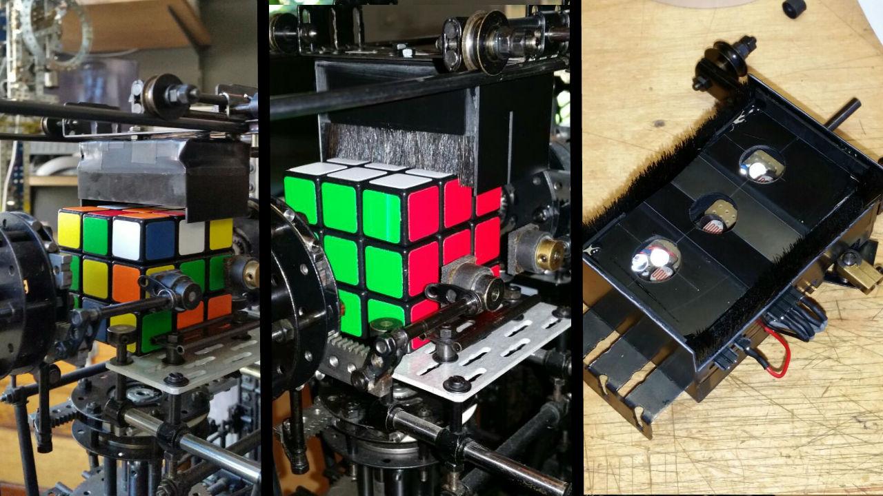 код схема сборки кубика рубика