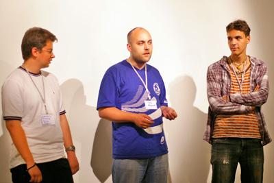 Синие ведерки на SocialCamp