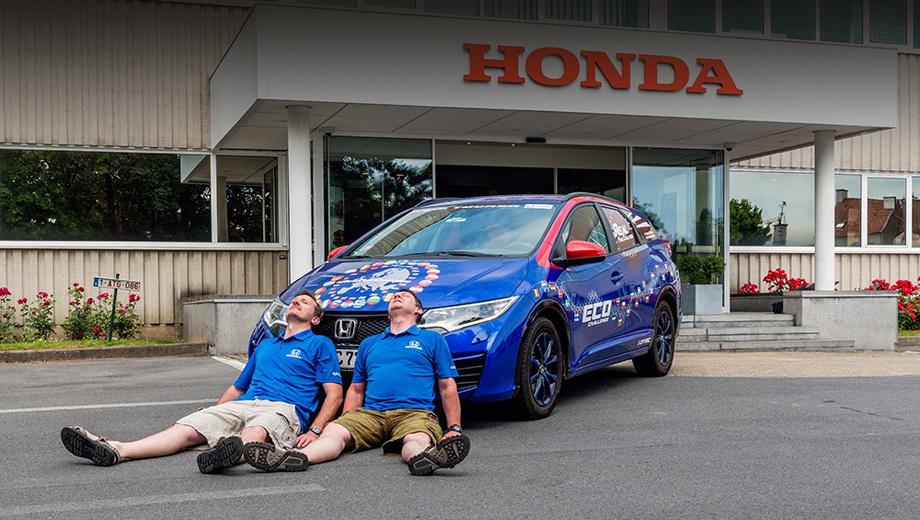 Автомобиль Honda установил мировой рекорд по расходу топлива: 2.4 литра на 100 км