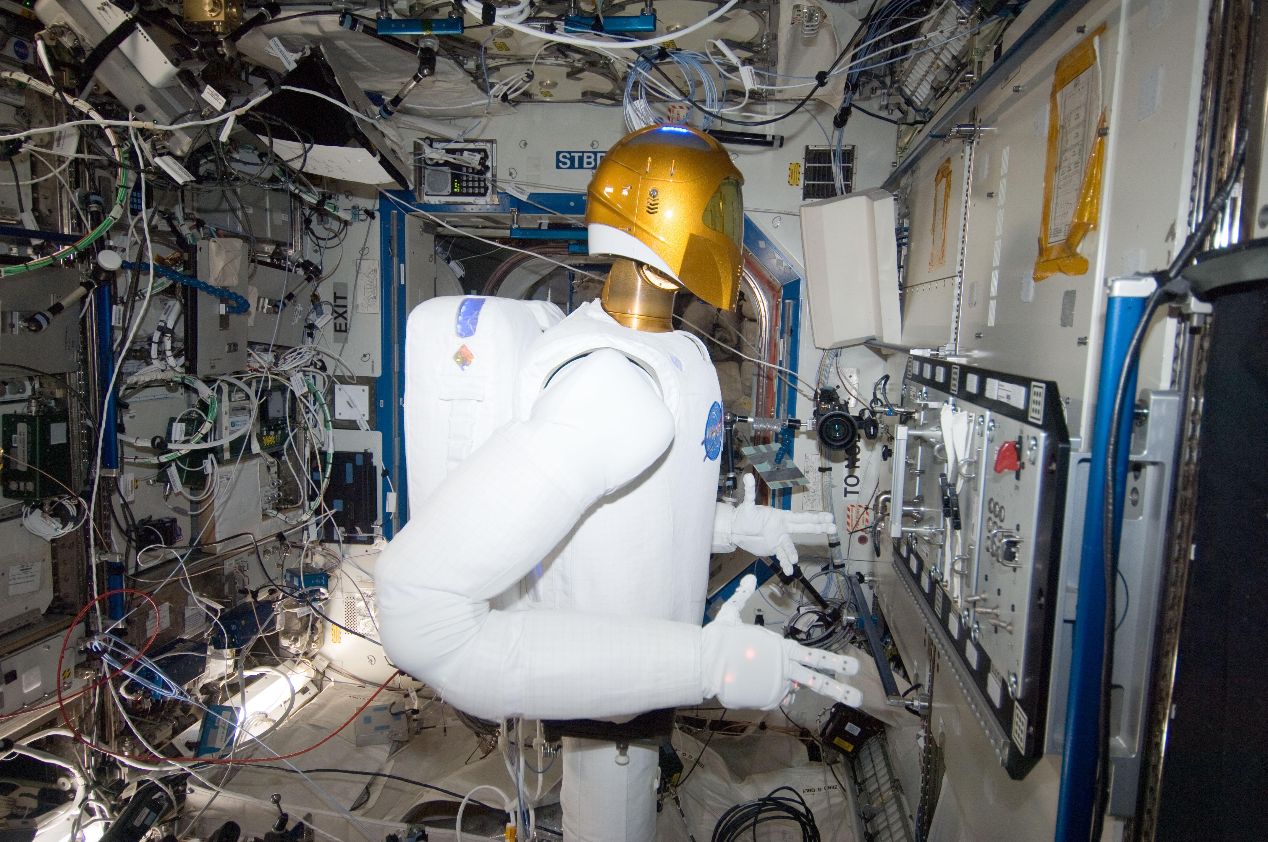 Робонавт на МКС