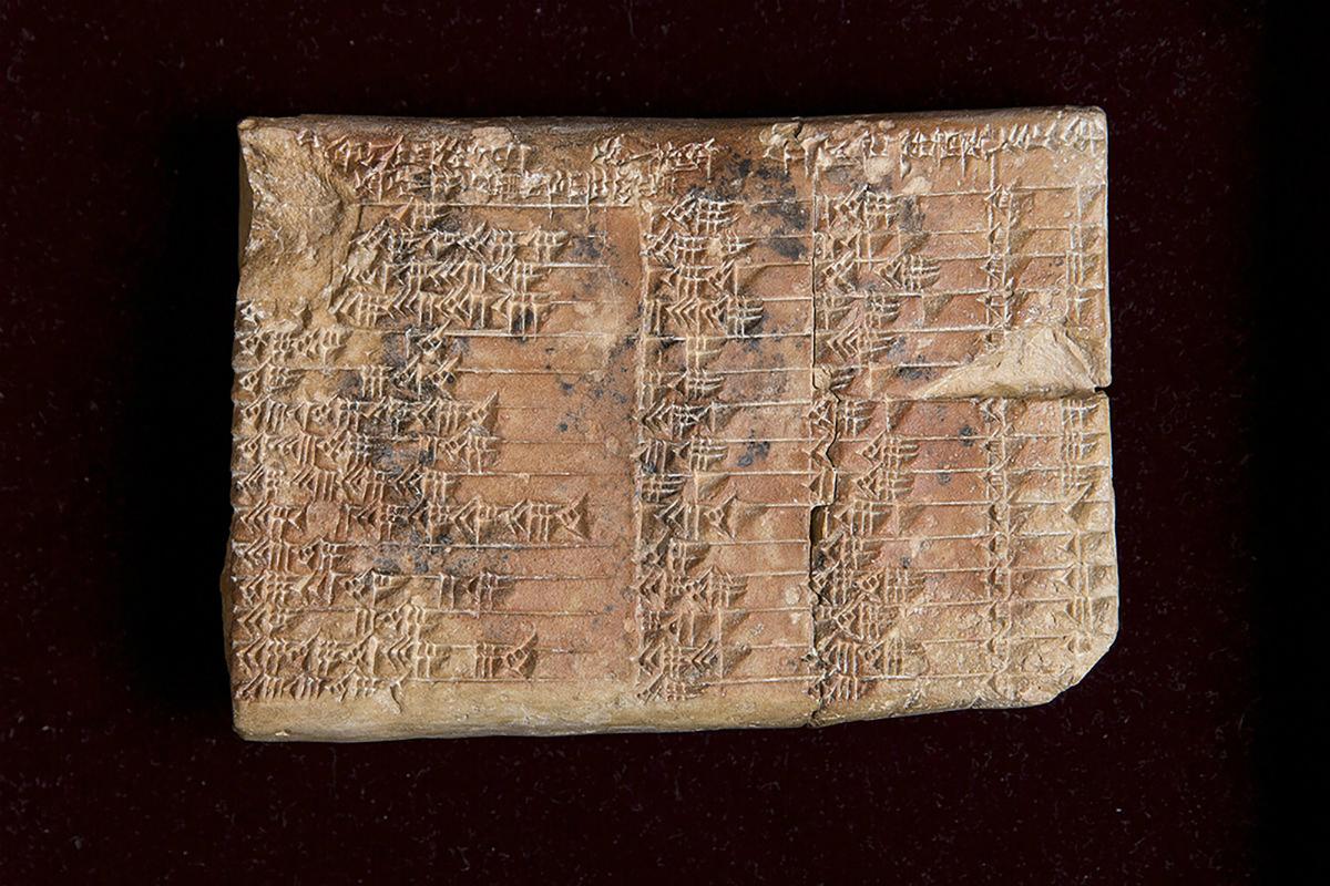 Древняя глиняная табличка доказывает, что в Месопотамии времен Хаммурапи знали тригонометрию