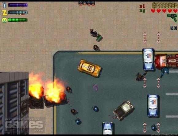 GTA ViceCity [Прохождение игры] №2 - Под колёса и в