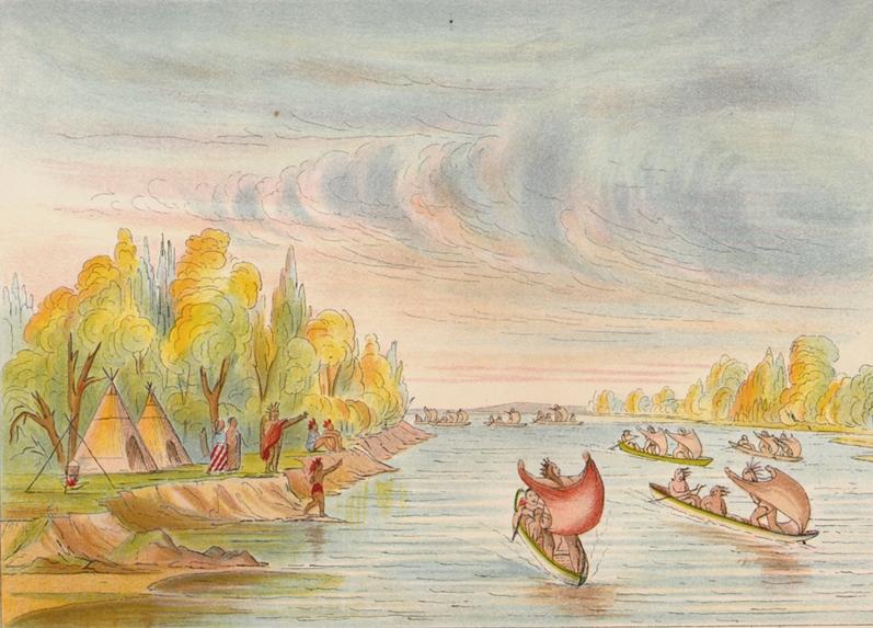 Влияние человека на природу может быть и положительным: пример индейцев