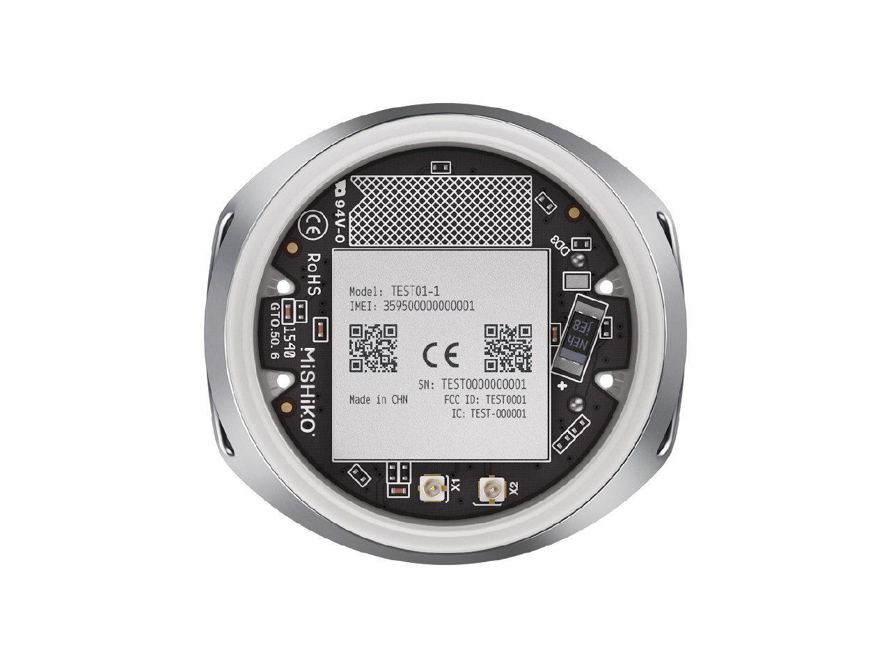 Кастомная GPS антенна, SIM чип, процессор и 8Мб памяти: из чего сделан умный собачий ошейник Mishiko