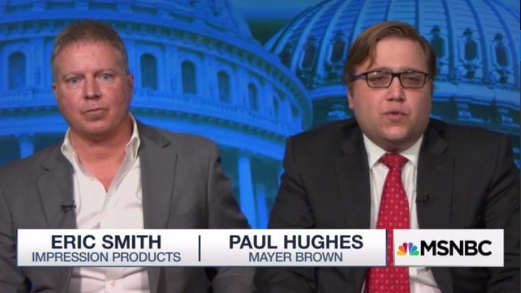 Эрик Смит с адвокатом Mayer Brown делятся своей историей на национальном телевидении