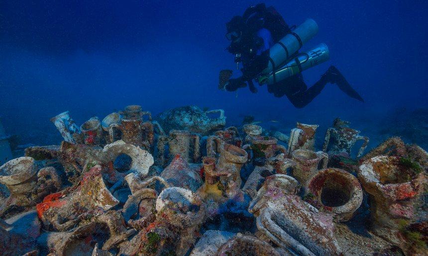 На месте обнаружения Антикитерского механизма нашли человеческий скелет