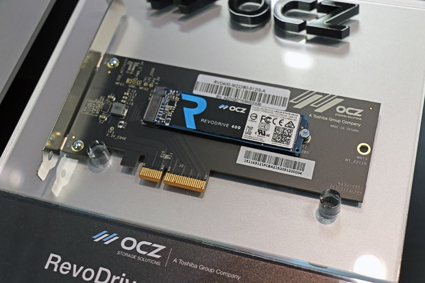 OCZ RevoDrive — NVMe SSD with a speed of work of 2,4 GB / with