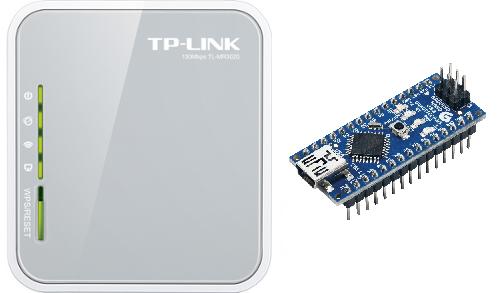 TP LINK и Arduino Nano