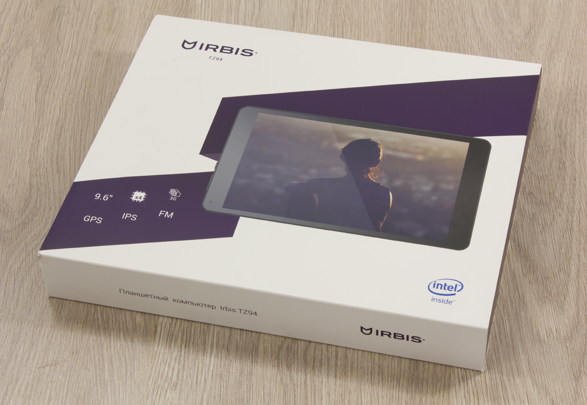 The overview of the Irbis TZ94 tablet – the big screen and the Intel® processor for the modest sum