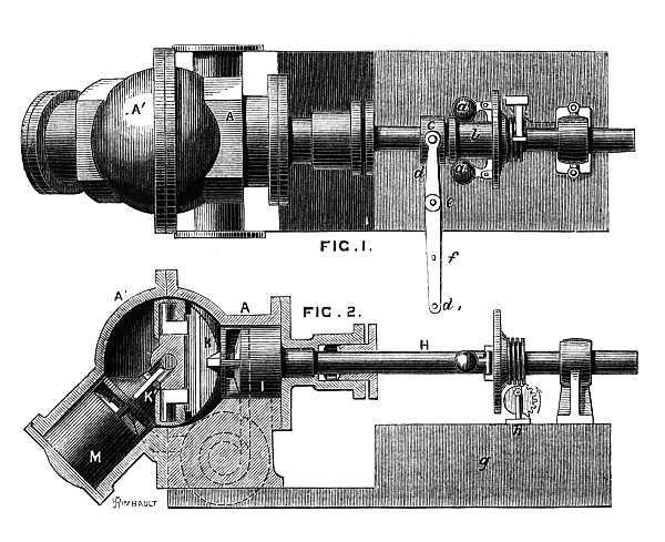 Паровой двигатель Тауэра
