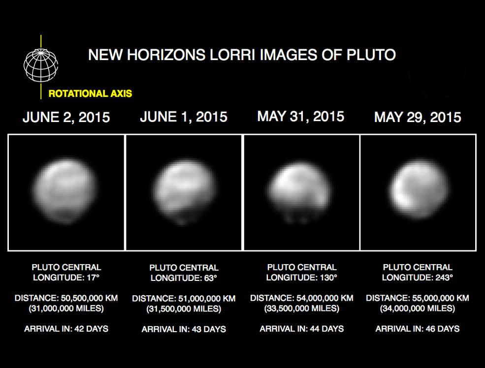 Плутон рисунок