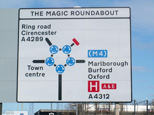 Волшебная круговая развязка: кругосветное путешествие по самой сложной дорожной развязке в мире