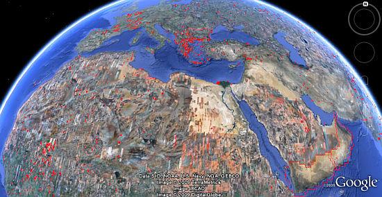 [Июльские обновления изображений Google Earth.]