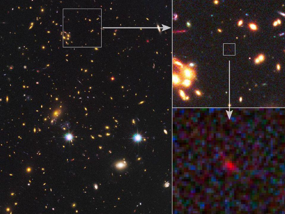 [Перевод] Астрономы подтвердили обнаружение второй по удалённости от нас галактики