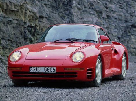 Porsche 959 Coupe Билла Гейтса