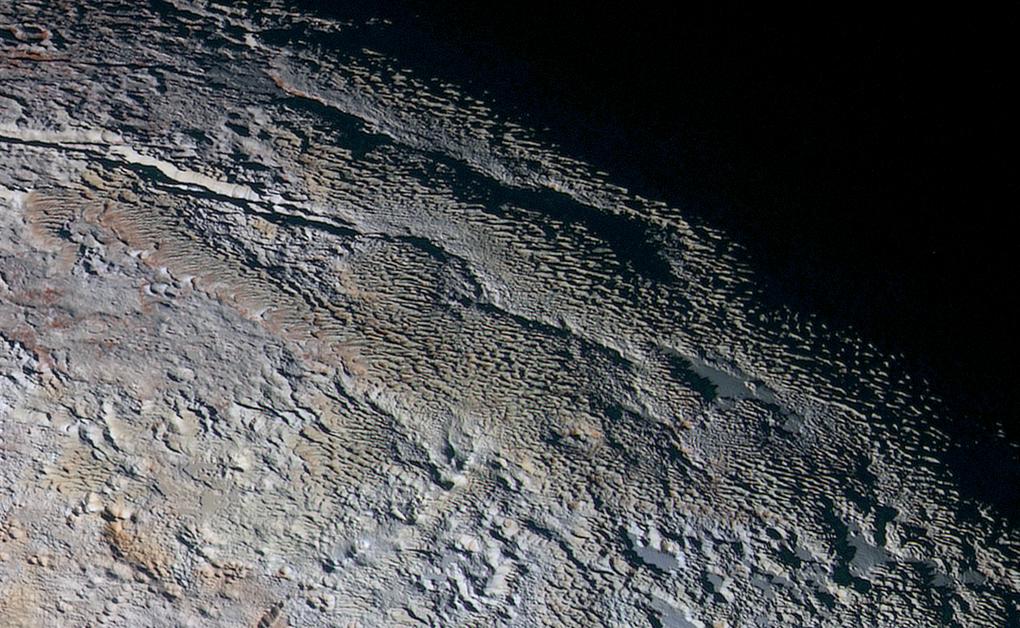 Картинки плутона из космоса