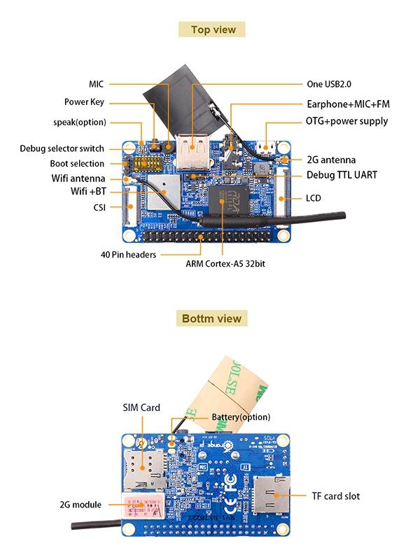 Orange Pi 2G-IoT — идеальный одноплатник для IoT