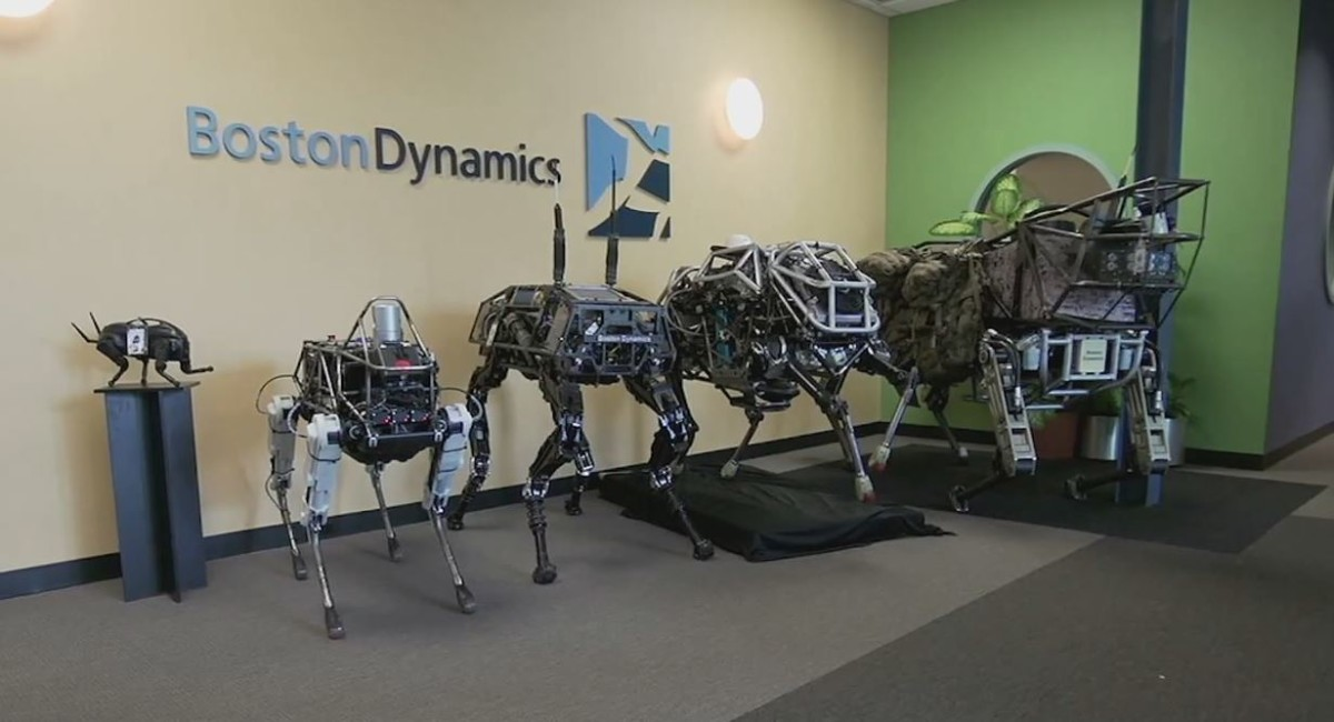 Boston Dynamics разрабатывает пугающе быстрого робота