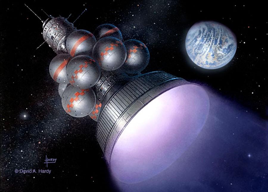 Проект «Дедал»: автоматический звездолет родом из 70-х годов прошлого века