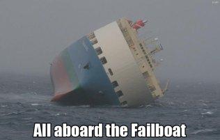 Все на борт тонущего корабля!