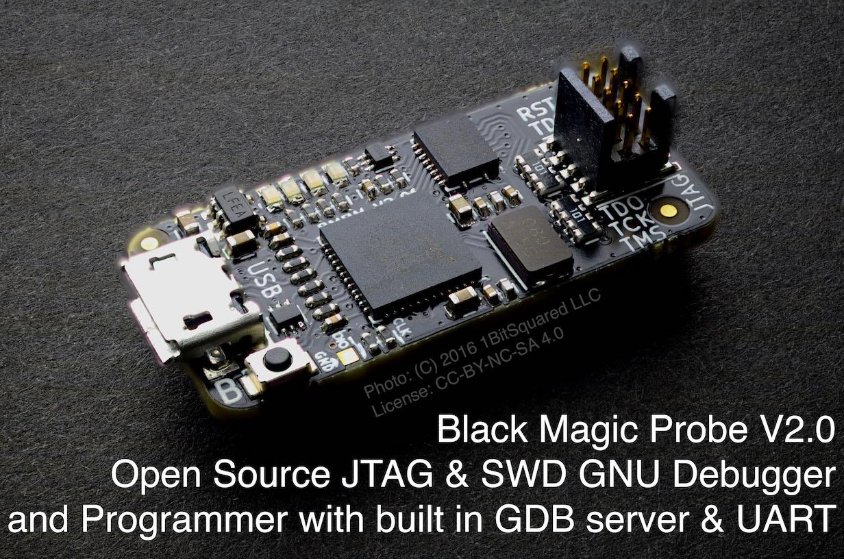 Черная магия голубой таблетки (делаем программатор Black Magic Probe