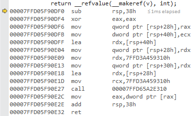 Refvalue JIT x64 Release