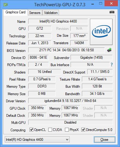 Хозяйка из настоящего — интегрированная графика (Intel GPU) 2013 ...