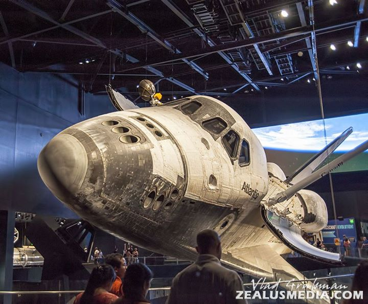 Shuttle Atlantis at Kenndy Space Center, Cape Canaveral, Florida