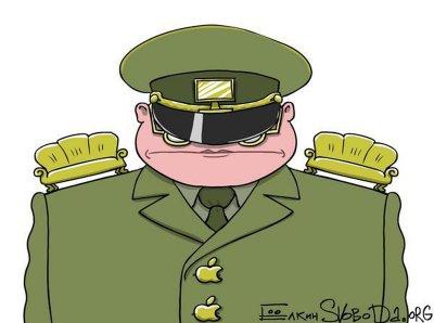 Генерал в погонах