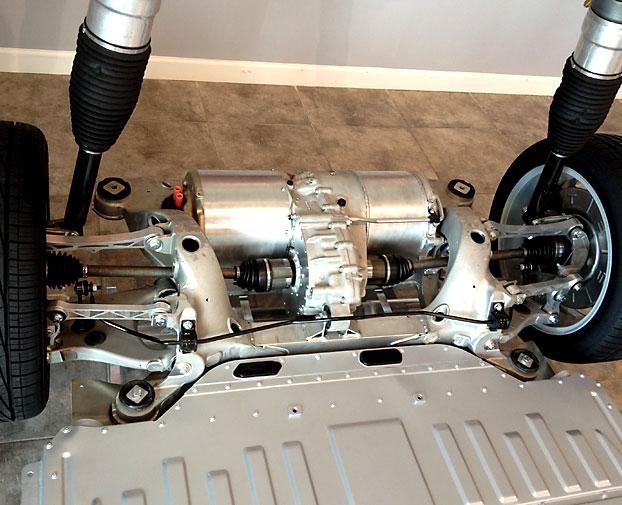 как устроен двигатель тесла модель с