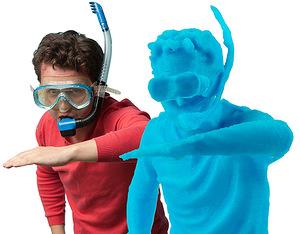 Оригинал - 3Д копия человека, напечатанная на 3D принтере
