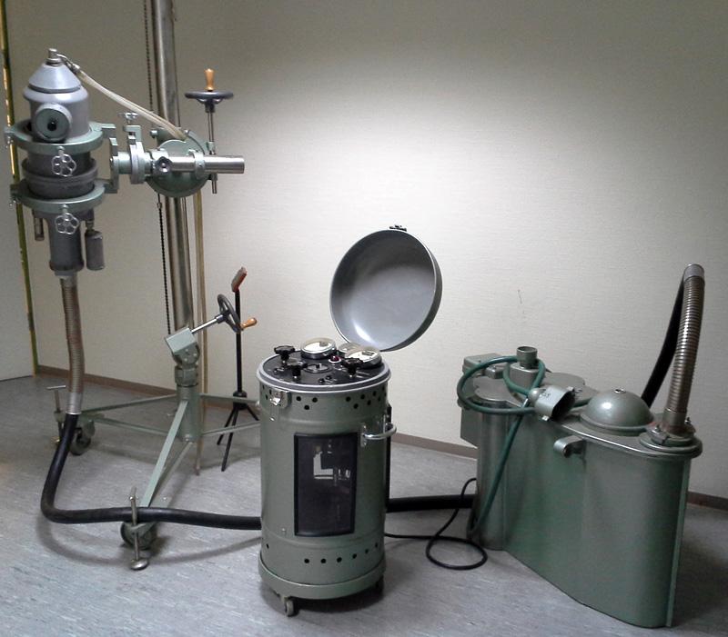 Опыт рентгеноскопии в домашних