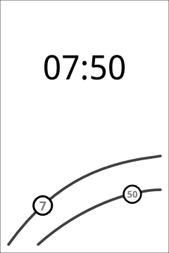 Alternative time input