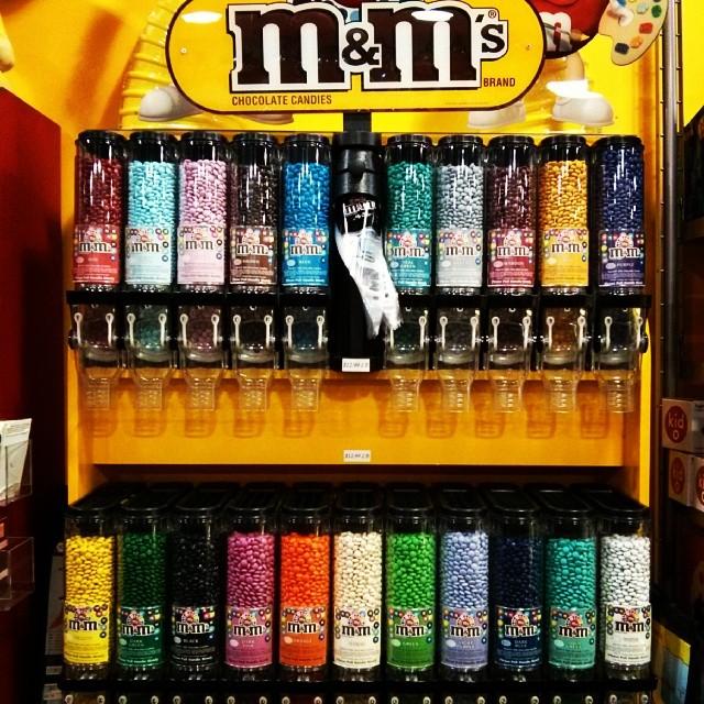 M&M's  по цветам