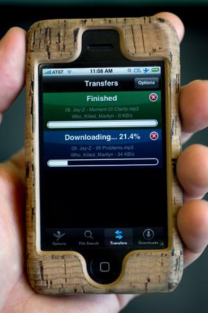 iSlsk клиент P2P сети Soulseek для iPhone и iPod Touch