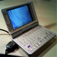 Android на Sharp Zaurus SL-C760
