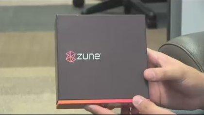 Упаковка Zune