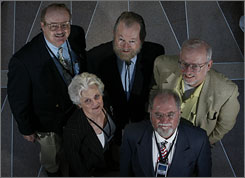 Members of the Sigma Group.  Photo USA Today.