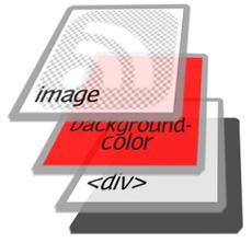 Как сделать RSS иконку любого цвета, используя одну картинку
