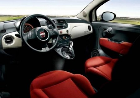 Fiat 500. But inside - everything is not so simple