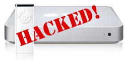 Apple TV Hacked. © ZDNet.