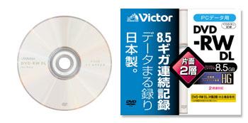 8,5 Гбайт на одностороннем DVD-RW
