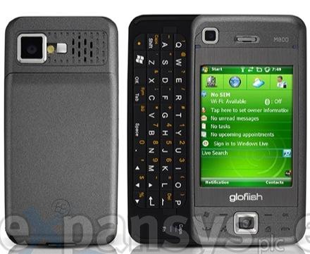 Glofiish M800 — теперь официально