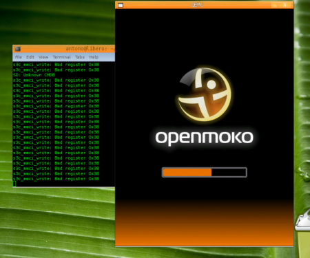 Загрузка OpenMoko