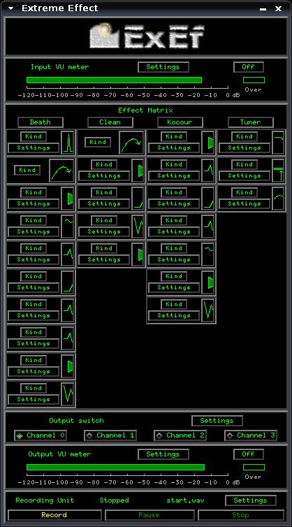 Скриншот ExEf