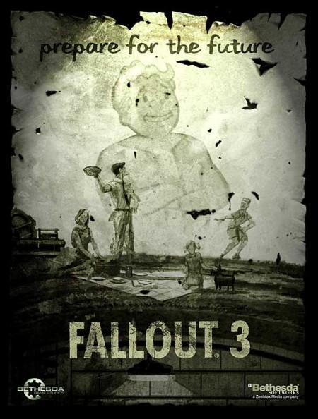 Рекламный плакат Fallout 3