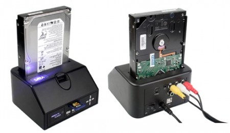 Brando's New Cartridge-Style HDD Dock Goes Full Multimedia Player